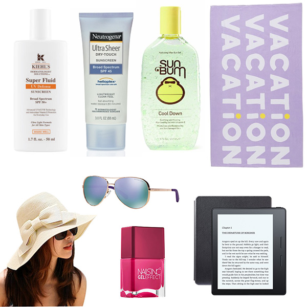 what to pack for a tropical vacation: essentials