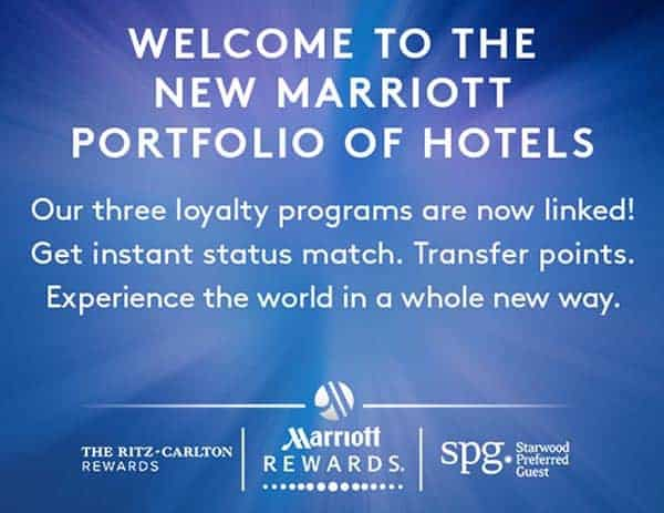 Marriott and Starwood Preferred Guest