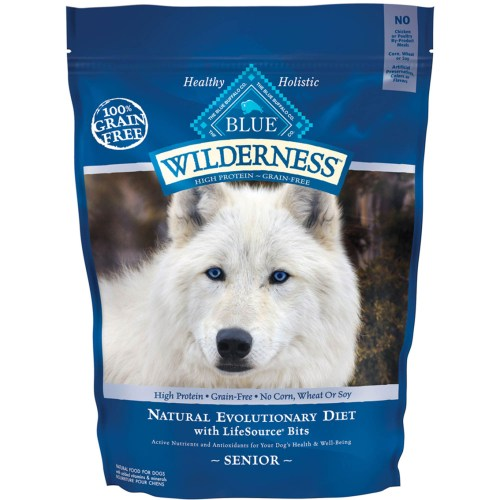 Medium Of Blue Buffalo Senior Dog Food