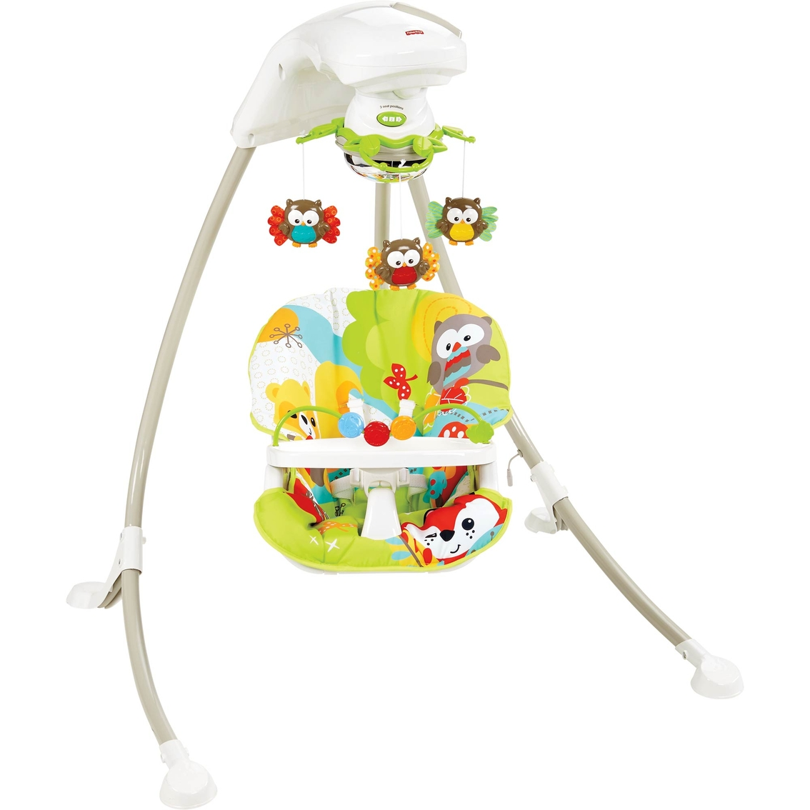 Catchy Woodland Friends Cradle Swing Swings Bouncers Fisher Price Cradle Swing Nature S Touch Manual Fisher Price Cradle Swing Rainforest baby Fisher Price Cradle Swing