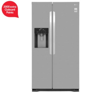 LG fridge with water dispenser 2000 clubcard points