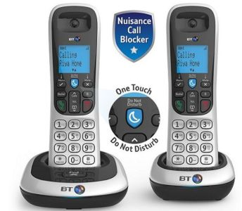 BT 2200 duo telephone 300 clubcard points