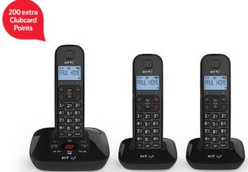 bt-3950-trio-cordless-home-phone-tesco-clubcard-points