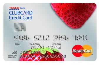Tesco Clubcard credit card