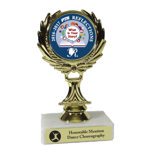 Marble Wreath Reflections Trophy