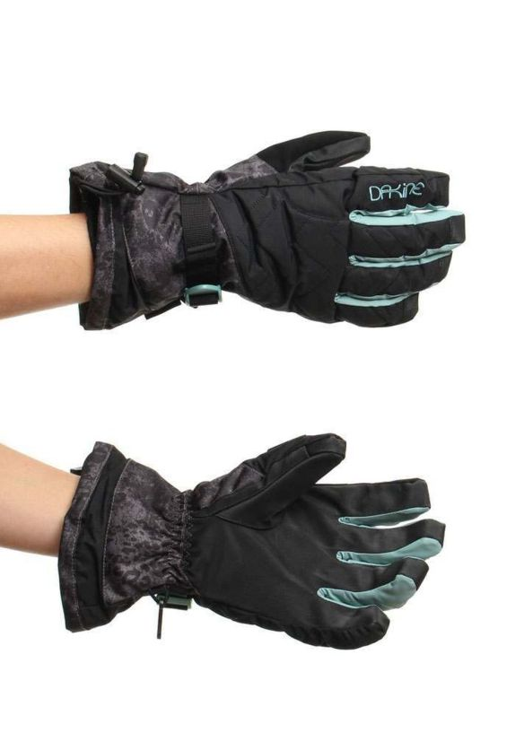 DAKINE CAMINO SNOW GLOVES Leopard