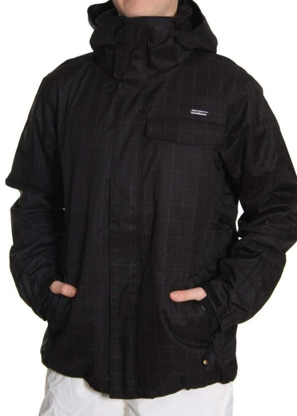 ONEILL ESCAPE FINETUNE SNOW JACKET Black Out