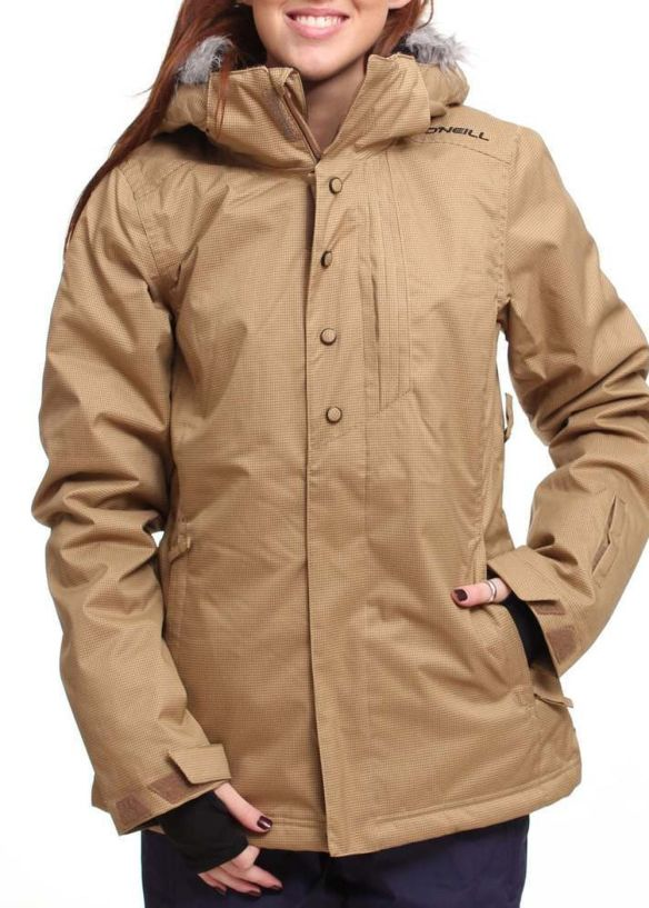 ONEILL SERAPHINE SNOW JACKET Tobacco Brown