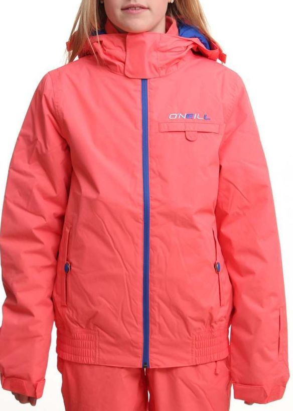 ONEILL GIRLS JEWEL SNOW JACKET Calypso Coral