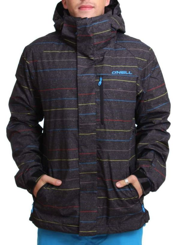 ONEILL HELIX SNOW JACKET Black AOP