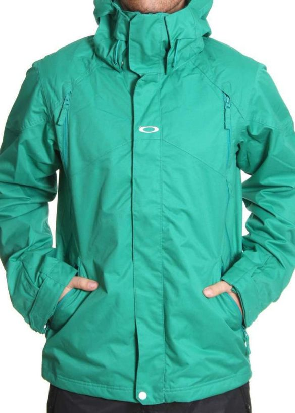 OAKLEY THE GOODS SNOW JACKET Lush Green