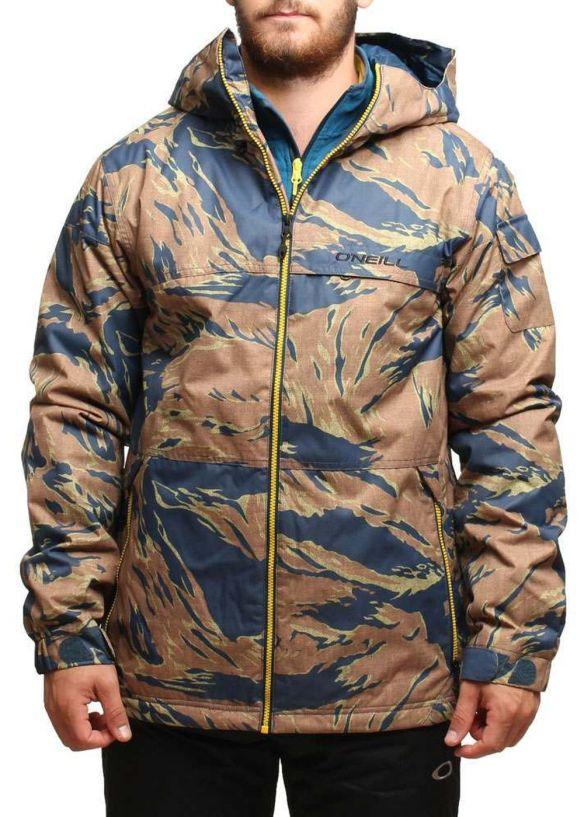 ONEILL AREA 52 SNOW JACKET Brown AOP