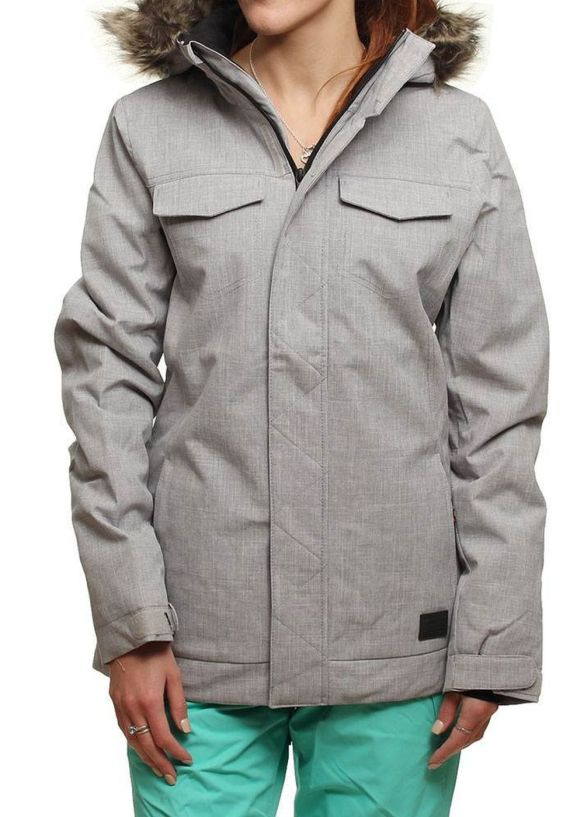 ONEILL SIGNAL SNOW JACKET Silver Melee