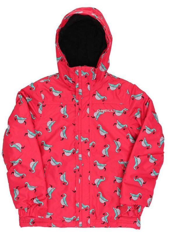 ONEILL GIRLS SCRIBBLE SNOW JACKET Pink/Blue