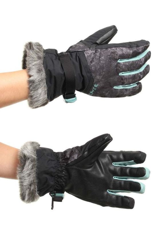 DAKINE ALERO SNOW GLOVES Leopard