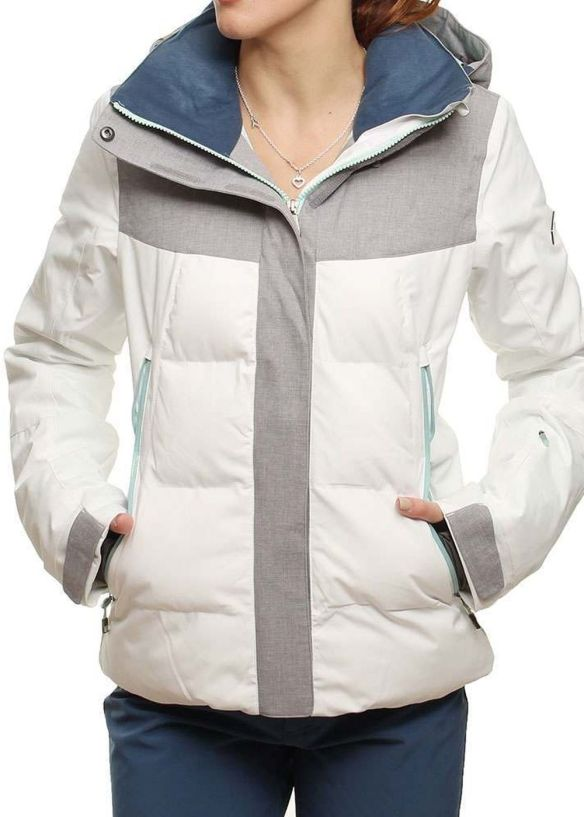 ROXY FLICKER SNOW JACKET Bright White