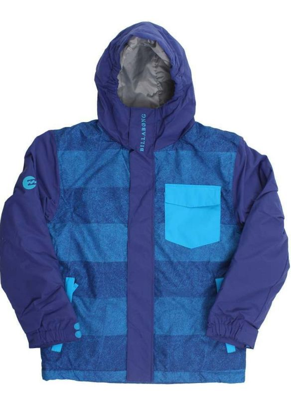 BILLABONG BOYS OVER SNOW JACKET Sodalite Blue