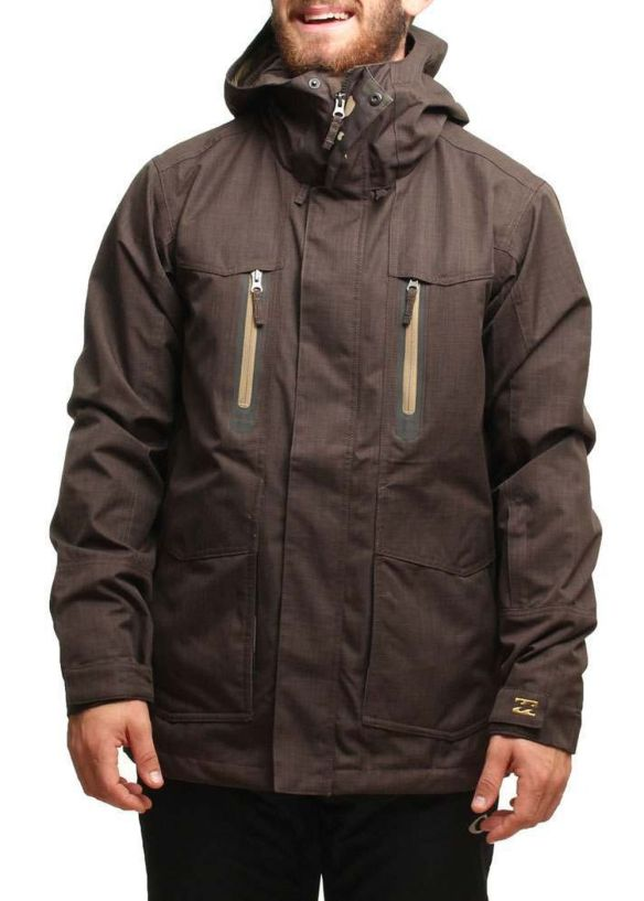 BILLABONG SOLID SNOW JACKET Tarmac