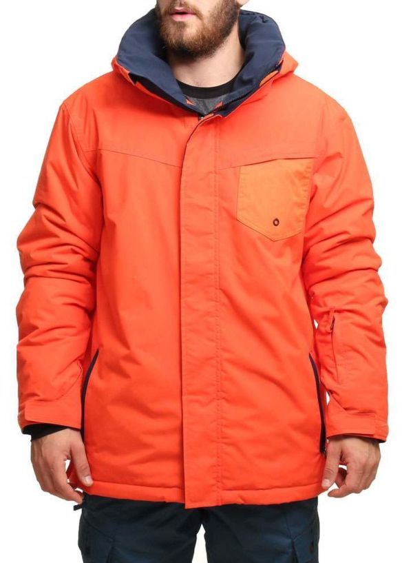 QUIKSILVER MISSION PLAIN SNOW JACKET Mandarin