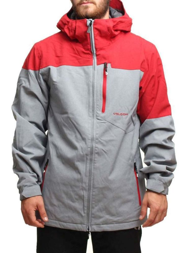 VOLCOM SHADOW HILL SNOW JACKET Grey