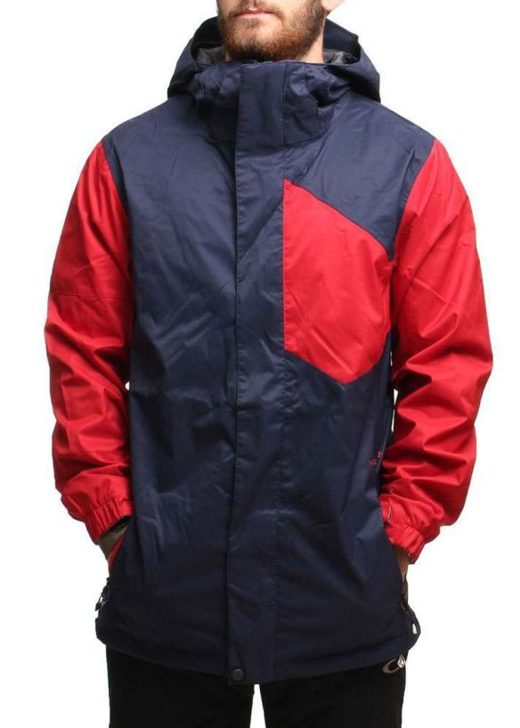VOLCOM STONE BLOCK SNOW JACKET Navy