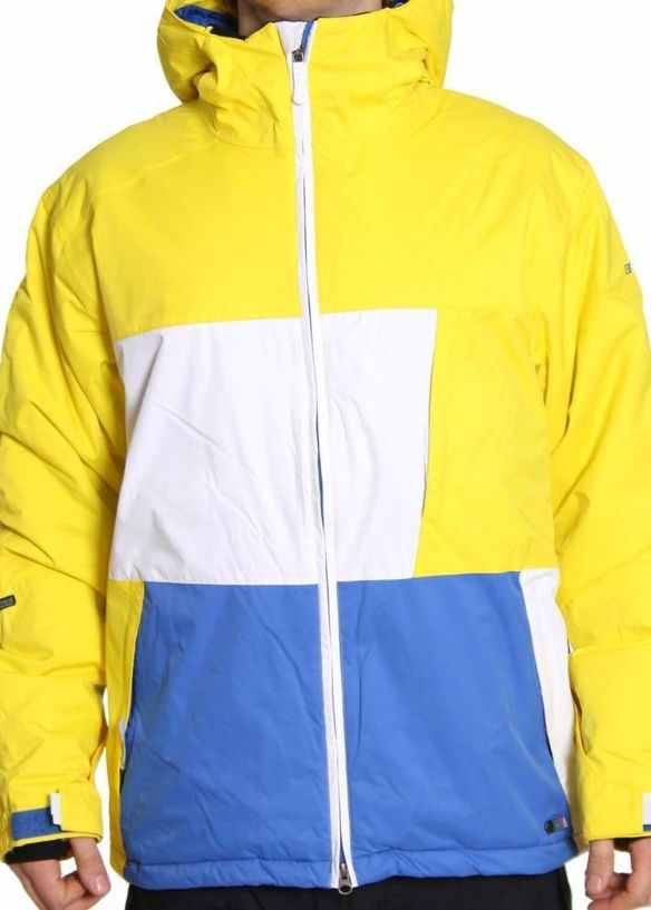 ANIMAL BUCKAROO SNOW JACKET Cyber Yellow