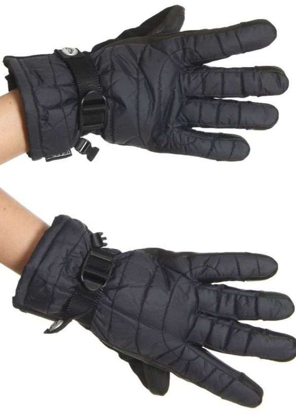 ROXY DROP IN SNOW GLOVES True Black