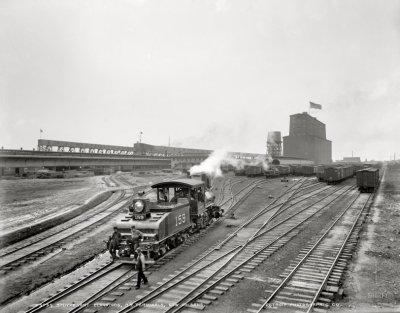 Stuyvesant Dock Terminal: 1900 | Shorpy Old Photos | Vintage Photography