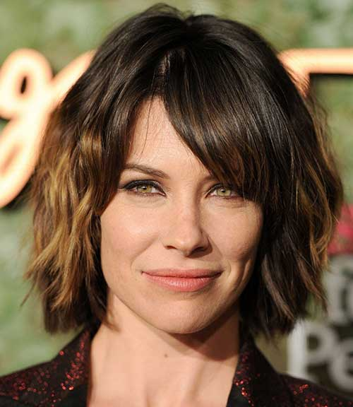 Evangeline Lilly Bob Hairstyle