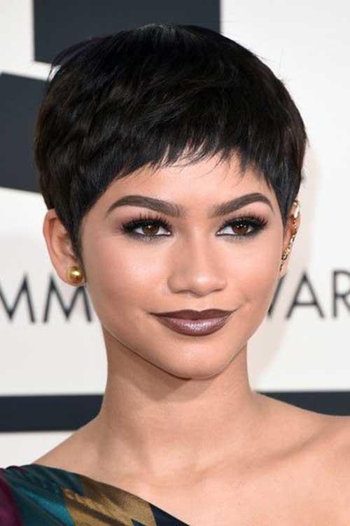 Zendaya Pixie Hairstyle