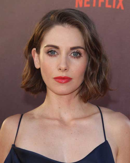 Alison Brie Latest Short Hairstyle