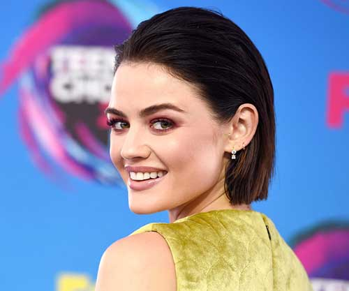 Lucy Hale Latest Short Hairstyle