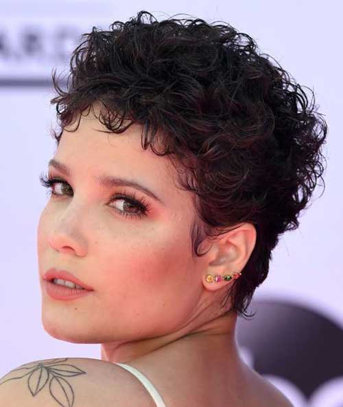 Pixie Cuts for Curly Hair