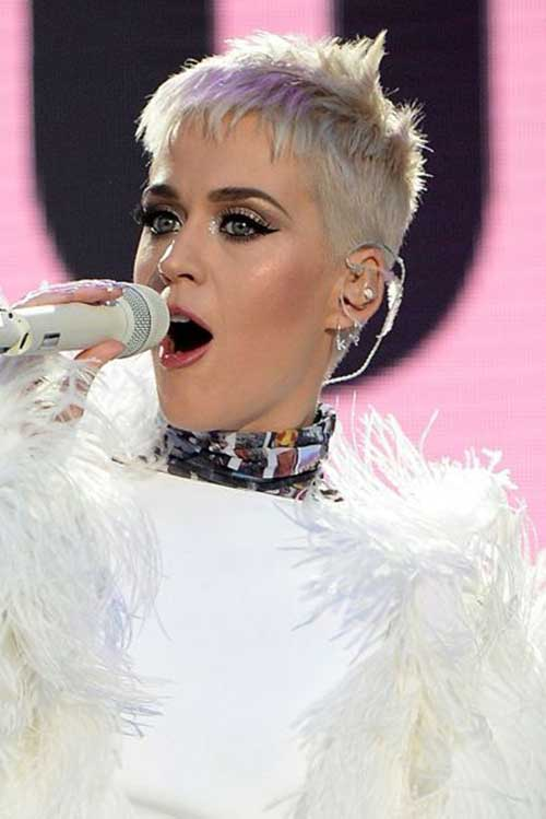 Katy Perry Super Short Haircut
