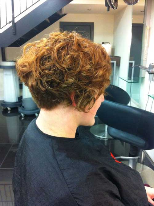 Curly Short Hairstyle
