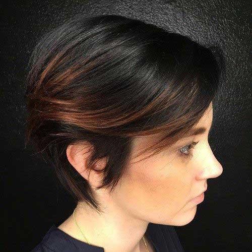 Brunette Short Hairstyles-15