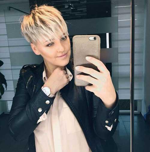 Short Blonde Hair 2018-8