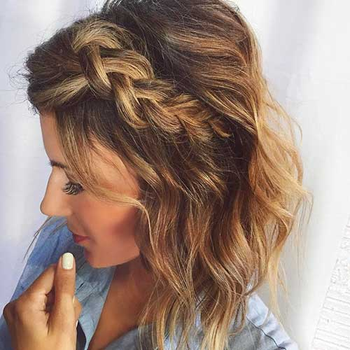 10 Chic Braided Short Hairstyles You Have To See