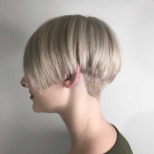 Short Straight Hairstyle - 11