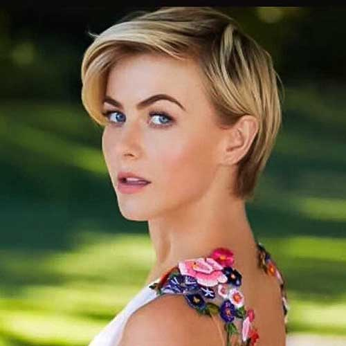 Julianne Hough Pixie Hairstyle