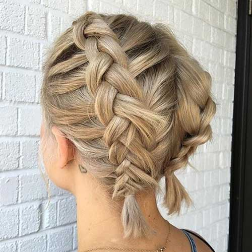 Braided Short Hairstyle