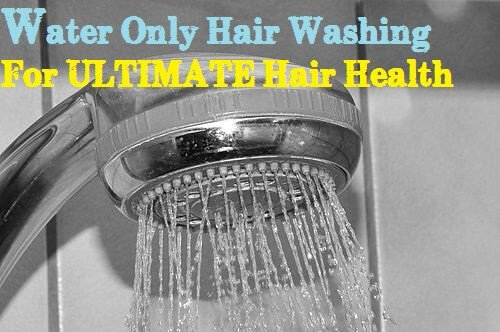 Water Only Hair Washing for ULTIMATE Natural Hair Health!