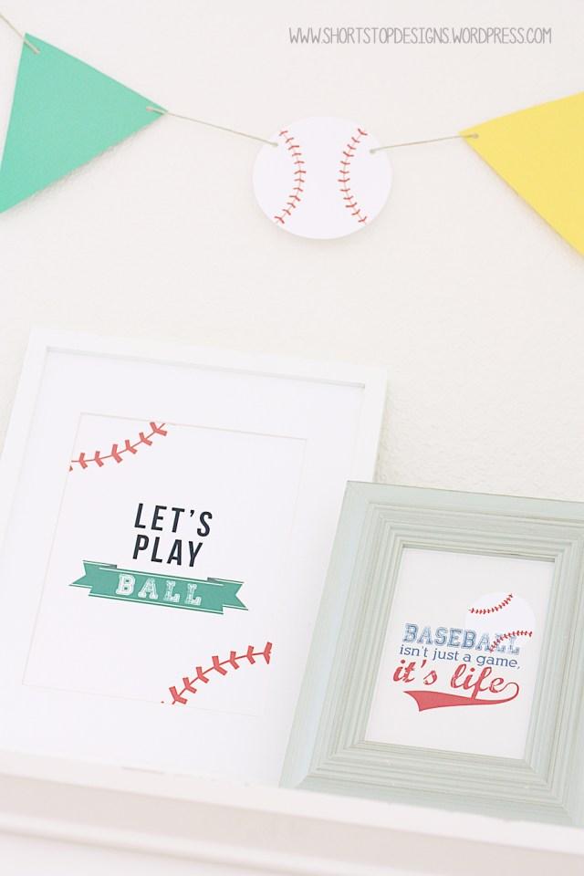 Baseball Printables 2