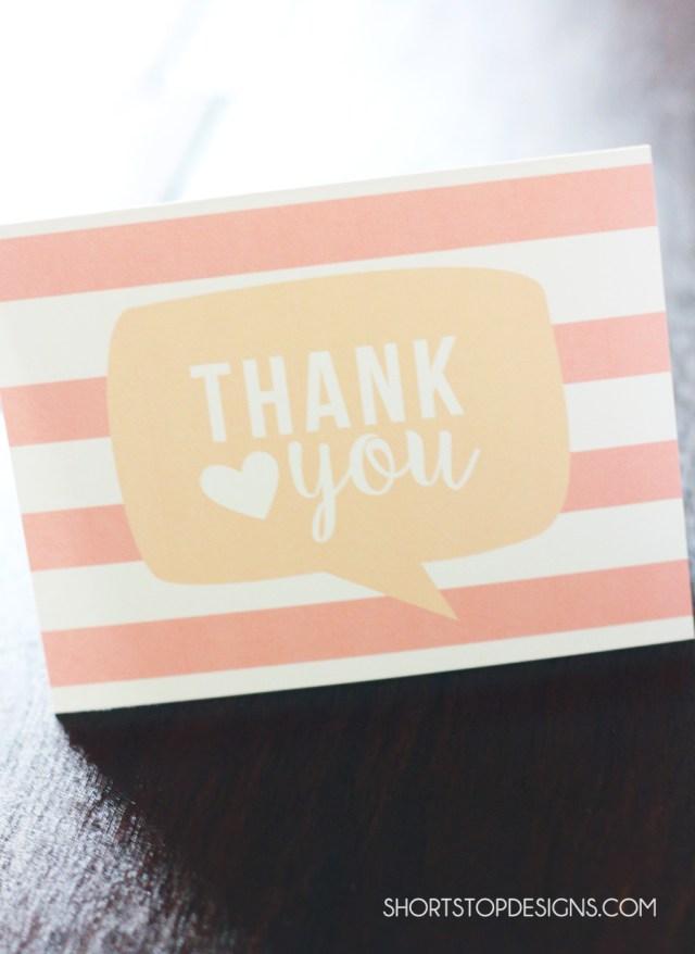 PRINTABLE THANK YOU CARDS THANK YOU2