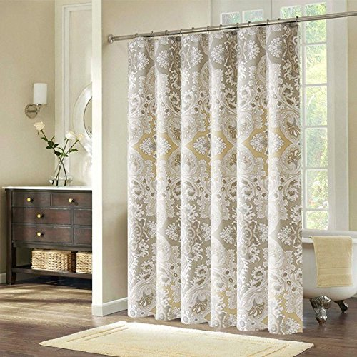 Ufriday Romes Life Pattern Shower Curtain Fabric Polyester Water