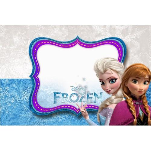 Medium Crop Of Frozen Birthday Invitations