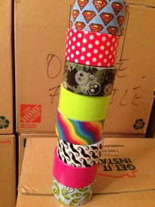 Duct Tape Fixes Everything – Even Moving