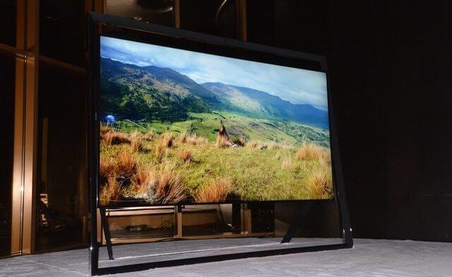 Samsung e sua TV de 85 polegadas e design flutuante