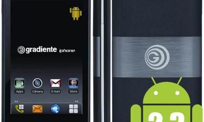 Gradiente iPhone chega às lojas virtuais do Brasil