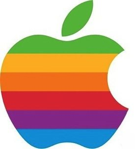 Logo Apple arco-íris